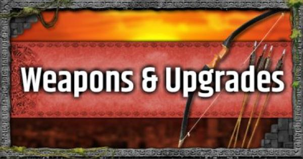 Tomb Raider | All Weapon & Attachment (Upgrade) Lists | Shadow of the Tomb Raider