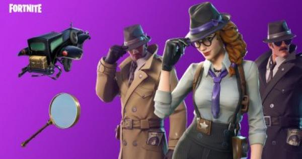 Fortnite | NOIR Skin - Set & Styles - GameWith