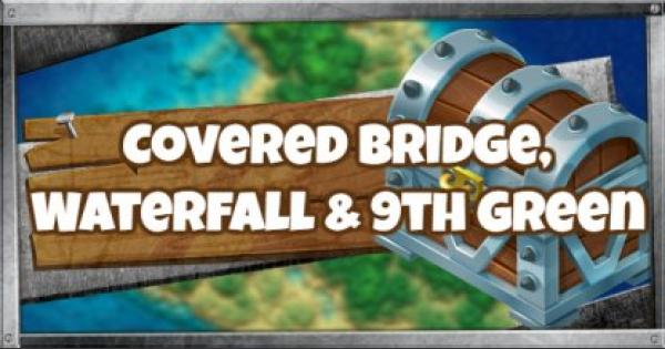 Fortnite | Search Between A Covered Bridge, Waterfall and The 9th Green - GameWith