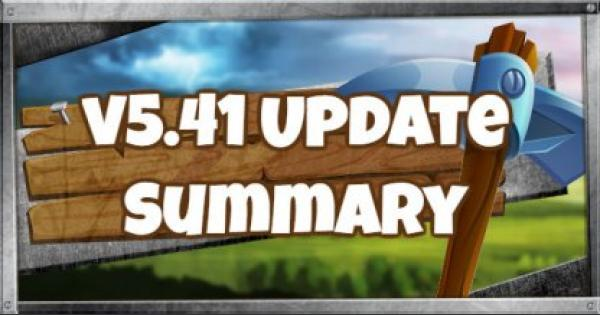 Fortnite | v5.41 Update Patch Note Summary - September 18, 2018