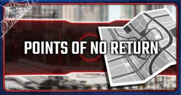 Spider-Man PS4 | Points Of No Return
