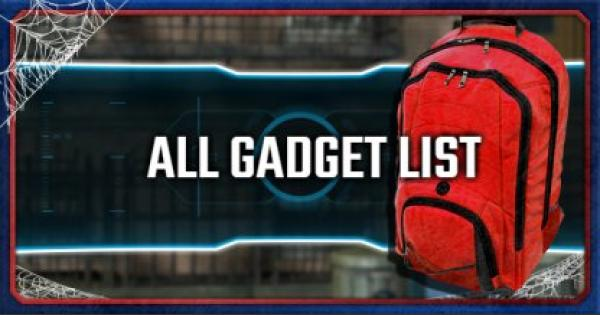 Spider-Man PS4 | All Unlockable Gadget List & Recommended Upgrades