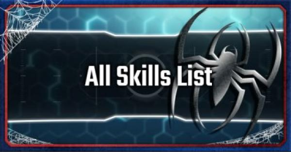 All Unlockable Skills List & Recommended Build - Spider-Man PS4