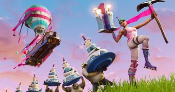 Fortnite   First Birthday Challenge - GameWith