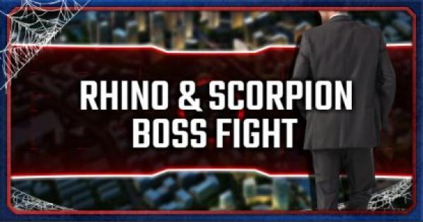Rhino & Scorpion - Boss Fight Guide & Walkthrough - Spider-Man PS4