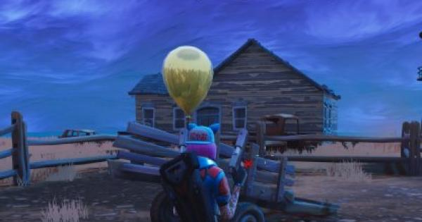 Fortnite | Pop Golden Balloons Challenge - Locations & Tips (Week 9) - GameWith