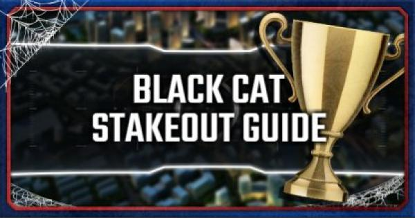 Spider-Man PS4 | Black Cat Stakeout Locations & Guide