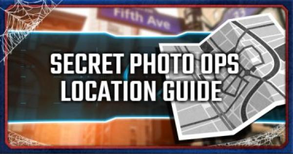 Spider-Man PS4 | Secret Photo Ops Location List & Guide