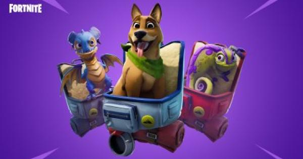 Fortnite | Cosmetic Item - Pets Back Bling & Unlock Tiers