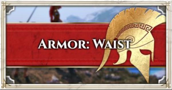 Assassin's Creed Odyssey | Armor List & Traits - Waist