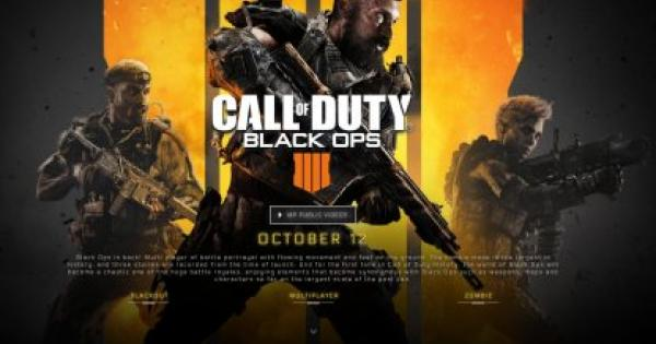 CoD: BO4 | Black Ops 4 Crossplay Status | Call of Duty: Black Ops 4 - GameWith