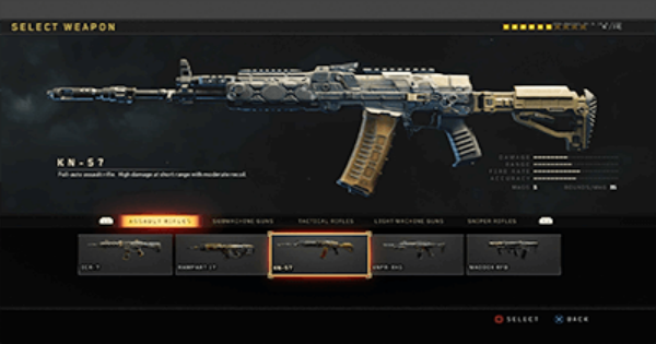 【CoD: BO4】KN-57 Assault Rifle - Stats, Tips, Unlock Level & Attachment【Call of Duty: Black Ops 4】 - GameWith