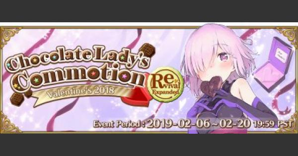 FGO | Revival: Valentine's 2018 Expanded Event Guide | Fate/Grand Order