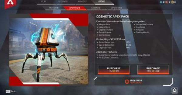 APEX LEGENDS | What Are Apex Packs & How To Earn Them - GameWith