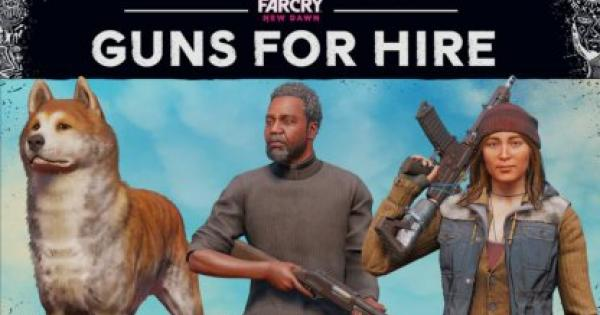 Far Cry: New Dawn | Guns for Hire - Companion List & Abilities - GameWith