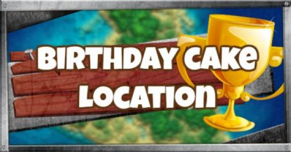 Fortnite | Birthday Cake Location - GameWith