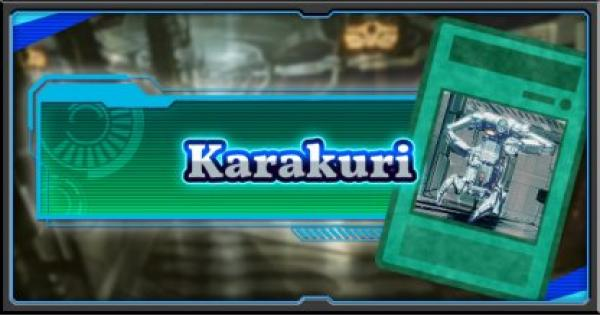 Karakuri | Deck Recipe - YuGiOh! Duel Links