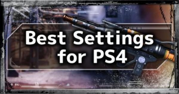 APEX LEGENDS | Recommended & Best Settings for the PS4