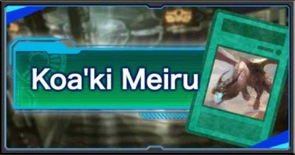 Koa'ki Meiru DECK - YuGiOh! Duel Links
