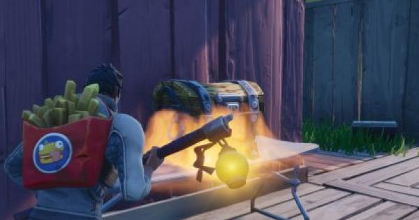 Fortnite | Search Chests Or Ammo Boxes At Hotel Or RV Park - Locations