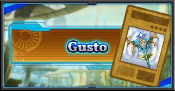 Gusto | Deck Recipe - YuGiOh! Duel Links