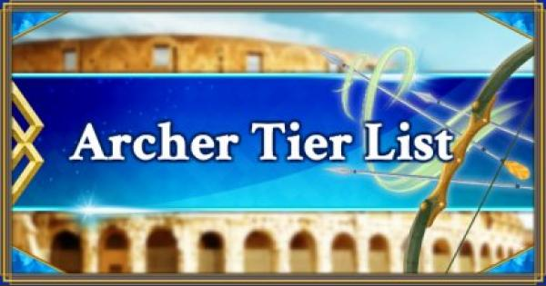 FGO | Archer Servants Tier List | Fate/Grand Order