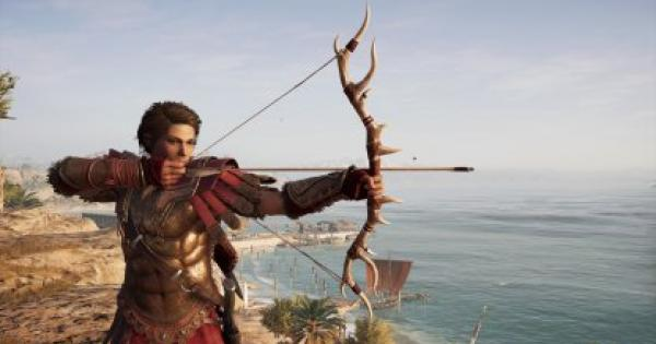 Assassin's Creed Odyssey | Artemis's Bow - How to Get & Weapon Stats - GameWith