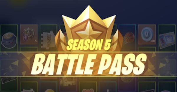 Fortnite | Season 5 Battle Pass Challenge List & Guides