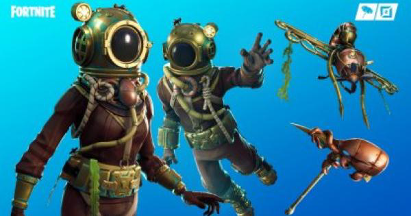 Fortnite | DEEP SEA DESTROYER Skin - Set & Styles - GameWith