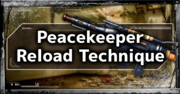 Pro Play Tip Guide: Peackeeper Reload Cancel Technique - APEX LEGENDS