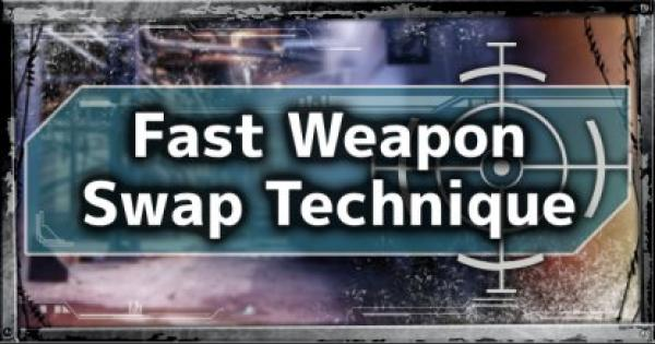 APEX LEGENDS | Pro Play Tip Guide: Quick Weapon Change Technique - GameWith