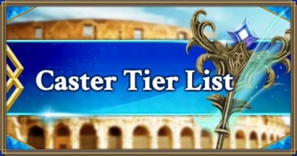 FGO | Caster Servants Tier List | Fate/Grand Order