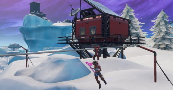 Fortnite | Damage Opposing Players while Riding a Zipline (Week 7)