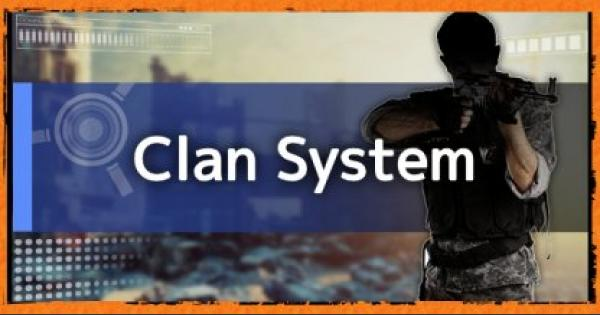Division2 | Clan System & Features Guide: How To Create Or Join Clans
