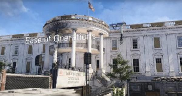 Division2 | Base Of Operations & Settlements Guide: How To Upgrade