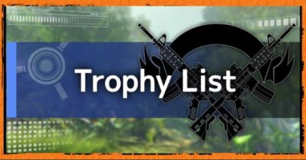 Division2 | Trophy (Achievement) Guide & List