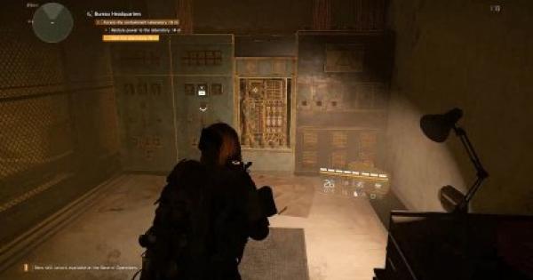 Division2 | Bureau Headquarters - Side Mission Walkthrough