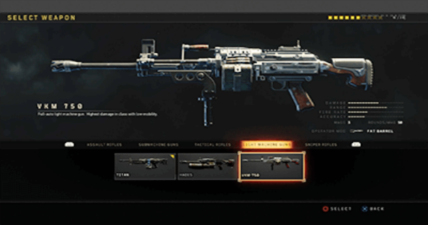 CoD: BO4 | VKM 750 - Stats, Tips, Unlock Level & Attachments | Call of Duty: Black Ops 4
