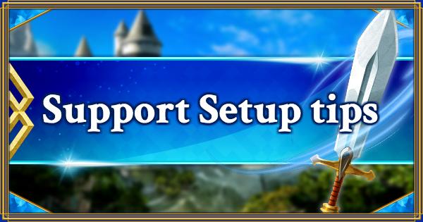 FGO | Support Setup tips | Fate/Grand Order