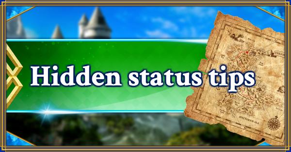 FGO | Summary of hidden status | Fate/Grand Order