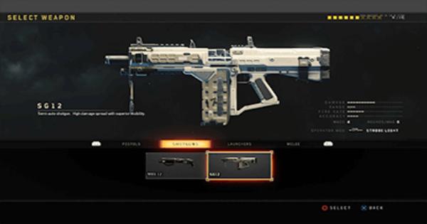 CoD: BO4 | SG12 Shotgun - Stats, Tips, Unlock Level & Attachments | Call of Duty: Black Ops 4