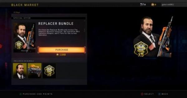 CoD: BO4 | New Blackout Character: The Replacer  | Call of Duty: Black Ops 4