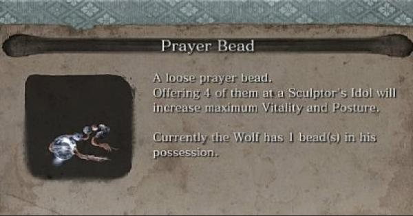 Prayer Bead - Locations List