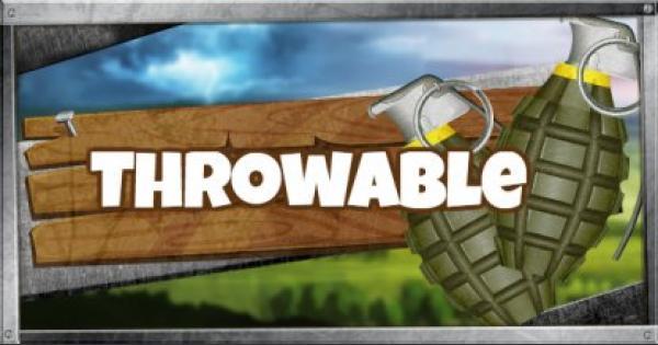 Fortnite | Throwable - Weapon List