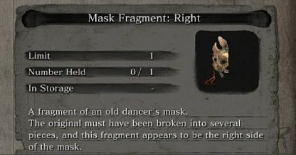 SEKIRO | Dragon Mask Fragment - Location List & How To Get