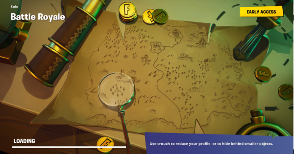 Fortnite | Search Where Knife Points On The Treasure Map (Week 6)