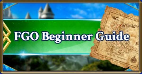 FGO | FGO Beginner Guide! Everything you need to know | Fate