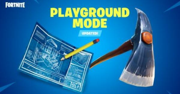 Fortnite | Playground Mode - Limited Time Mode - GameWith