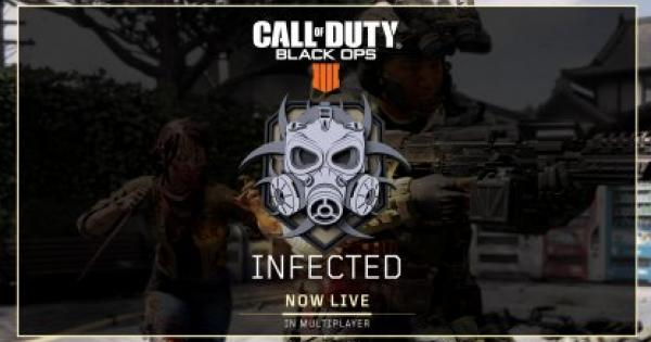 CoD: BO4 | Apr. 9 Update - New Mode: Infected & Alcatraz Blackout Map | Call of Duty: Black Ops 4 - GameWith