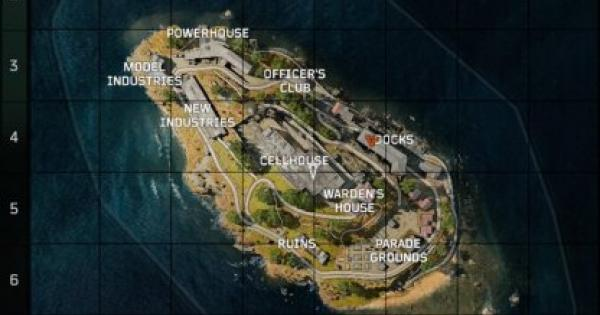 "CoD: BO4 | Blackout Mode ""Alcatraz"" Map Information - Tips & Guides 